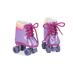 "OUR GENERATION SHOES FOR 18"" DOLL RAINBOW ROLLERS"