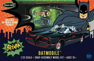 POLAR LIGHTS 1:25 '66 BATMOBILE SNAP-ASSEMBLY MODEL KIT