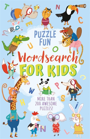 PUZZLE FUN WORD SEARCH FOR KIDS