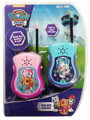 PAW PATROL SKYE & EVEREST WALKIE TALKIE