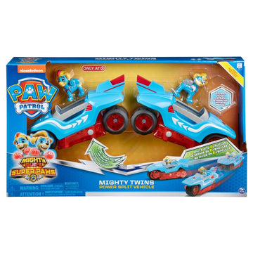 Paw Patrol Mighty Twins Power Split Vehicle - Toyworld