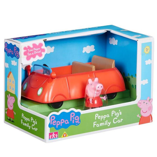 PEPPA PIG VEHICLE PEPPA PIG'S FAMILY CAR