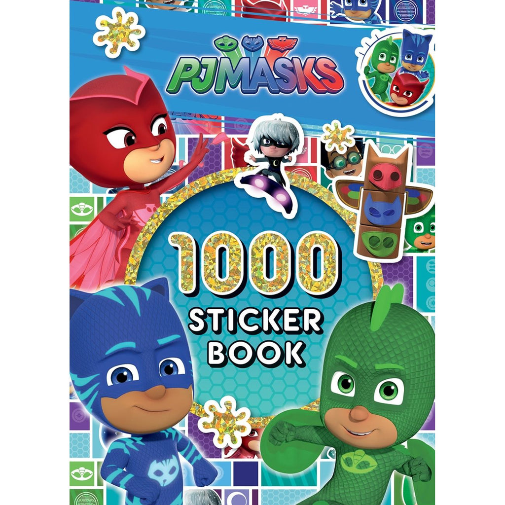 Pj Masks 1000 Stickers - Toyworld