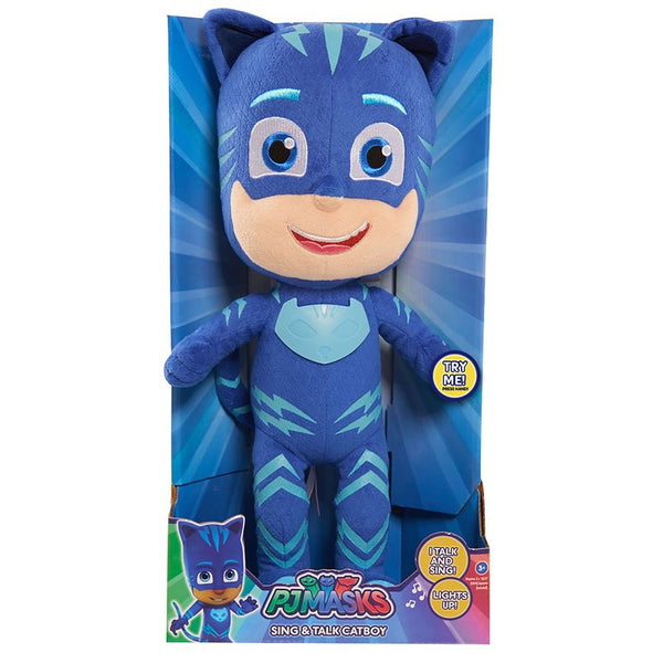 PJ MASKS FEATURE PLUSH SING & TALK CATBOY
