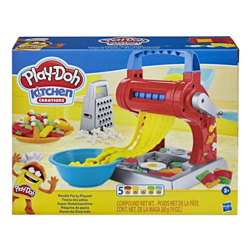 Playdoh Kitchen Creations Noodle Party Playset - Toyworld