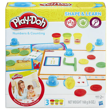 Playdoh Shape & Learn Numbers & Counting - Toyworld