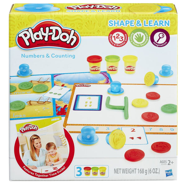 PLAYDOH SHAPE & LEARN NUMBERS & COUNTING