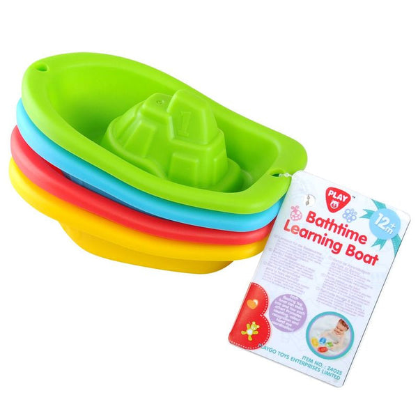 PLAYGO BATHTIME LEARNING BOAT 4PC