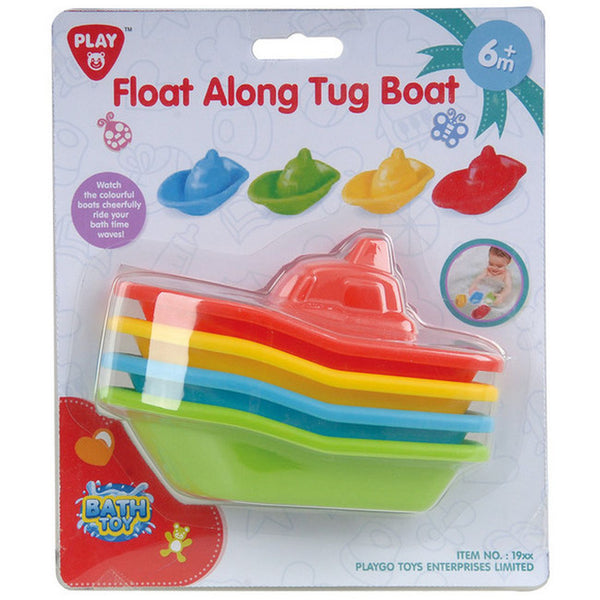 PLAYGO FLOAT ALONG TUG BOAT