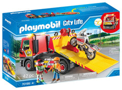 PLAYMOBIL 70199 CITY LIFE TOWING SERVICE
