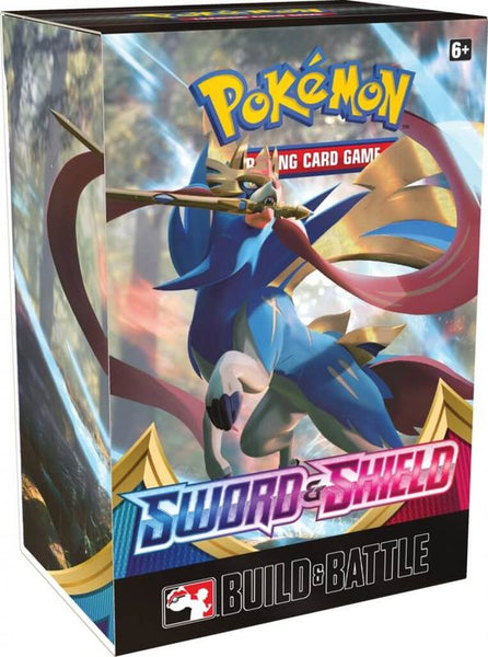 POKEMON TCG SWORD AND SHIELD BUILD & BATTLE BOX