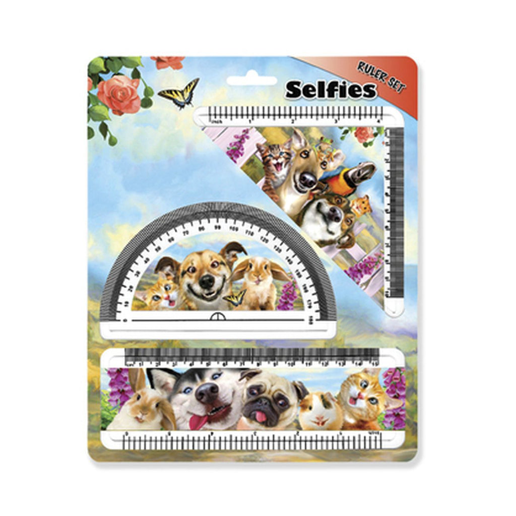Prime 3D Pet Selfie Ruler Set - Toyworld