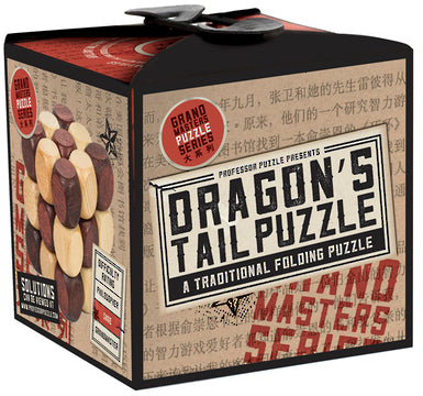 Professor Puzzle Great Minds Dragon's Tail Puzzle - Toyworld