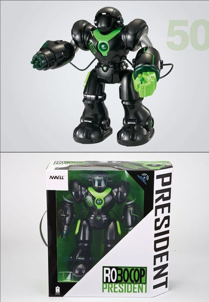 ROBOCOP PRESIDENT INTELLIGENT REMOTE CONTROL ROBOT