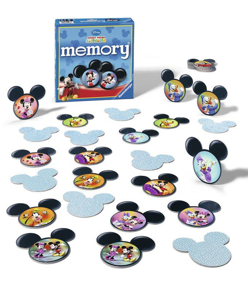 RAVENSBURGER DISNEY MICKEY MOUSE CLUBHOUSE MEMORY GAME