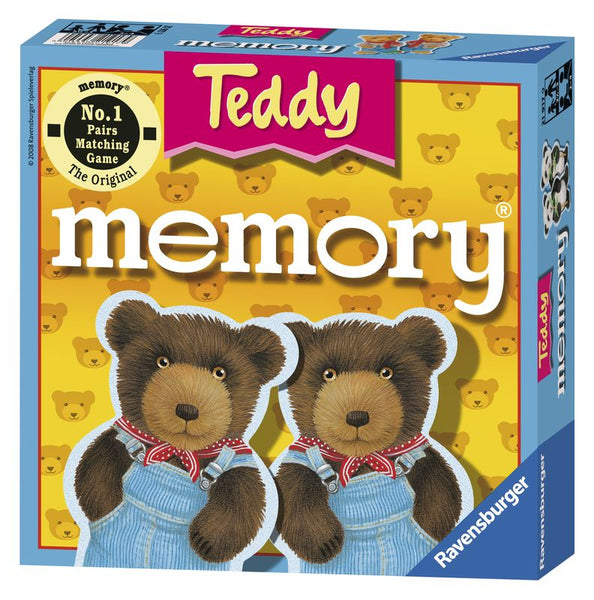 RAVENSBURGER TEDDY MEMORY GAME