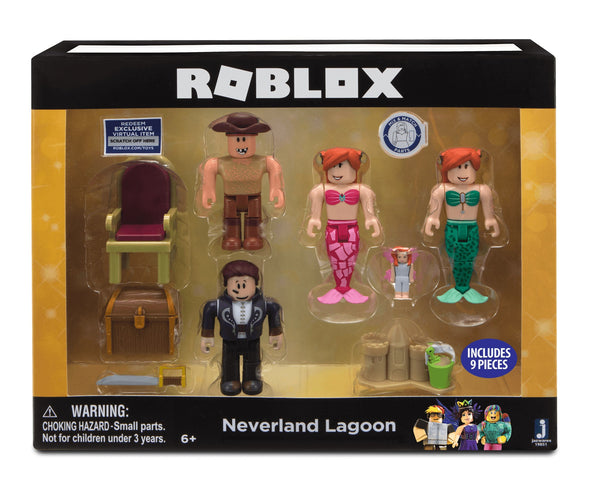 ROBLOX CELEBRITY FIGURE MULTIPACK NEVERLAND LAGOON