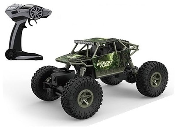 ROCK THROUGH 1:18 RC OFF ROADER ROCK CRAWLER FOREST CLIMB
