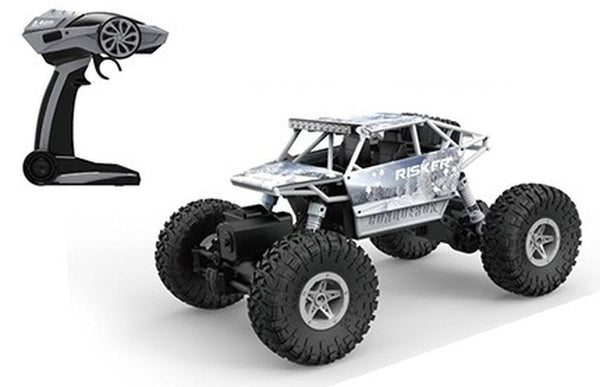 ROCK THROUGH 1:18 RC OFF ROADER ROCK CRAWLER RISKER