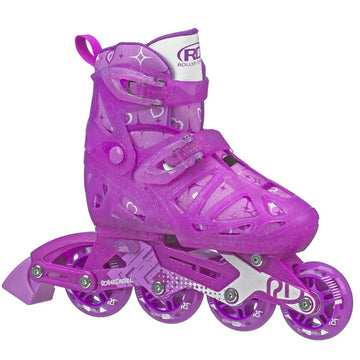 Roller Derby Tracer Girls Skates Purple Size - Toyworld
