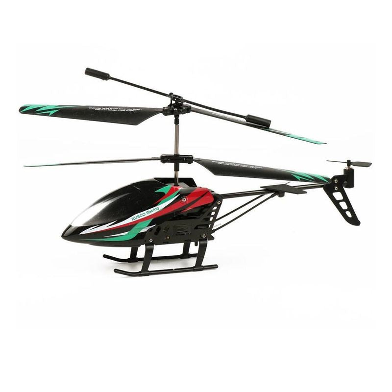 RUSCO RACING R/C 2.4 GHZ SKY HAWK HELICOPTER RED & GREEN