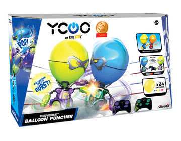 Silverlit Ycoo Robo Kombat Balloon Puncher Green & Purple - Toyworld