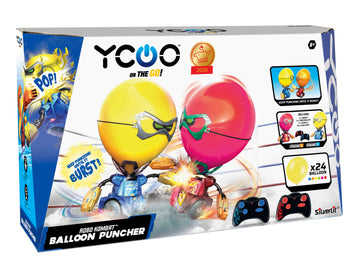 Silverlit Ycoo Robo Kombat Balloon Puncher Red & Blue - Toyworld