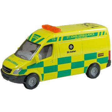 Siku 1590 Nz Mercedes St John Ambulance - Toyworld