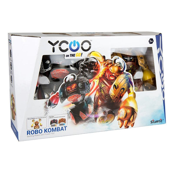Silverlit Ycoo Robot Kombat Viking Twin Pack - Toyworld