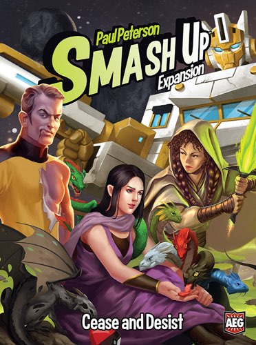 SMASH UP EXPANSION: CEASE AND DESIST