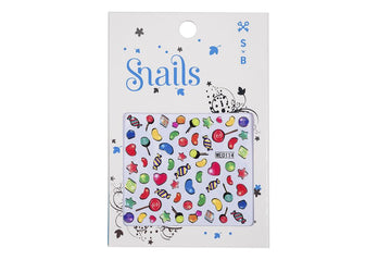 Snails Nail Stickers Candy Blast - Toyworld
