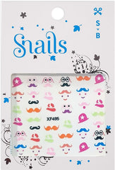 Snails Nail Stickers Mrs Potato Head - Toyworld