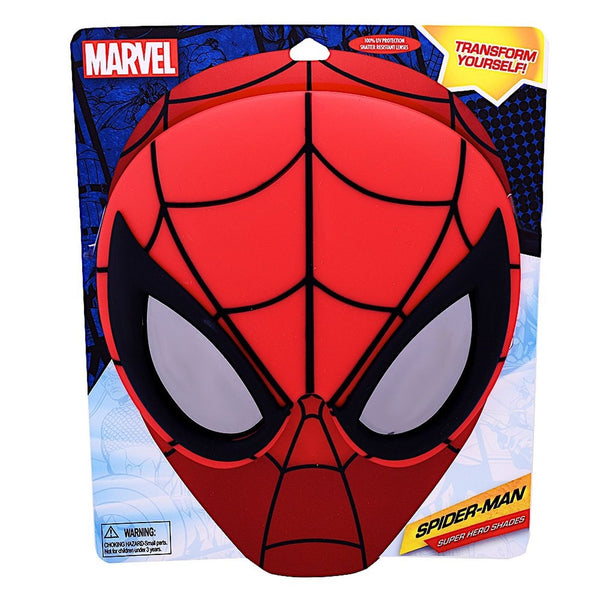 SUN-STACHES BIG CHARACTER SHADES SUPER HERO MARVEL SPIDERMAN