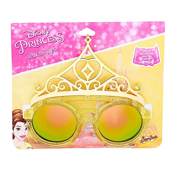 SUN-STACHES LIL CHARACTER SHADES DISNEY PRINCESS BELLE CROWN