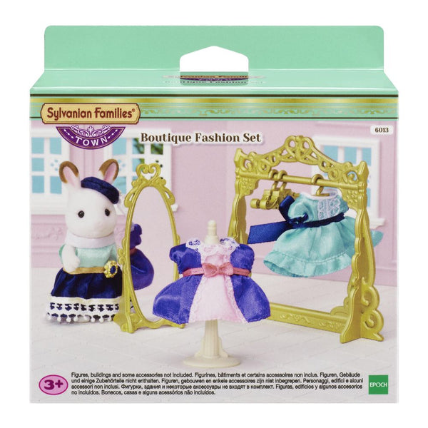 Sylvanian Families Town Boutique Fashion Set - Toyworld