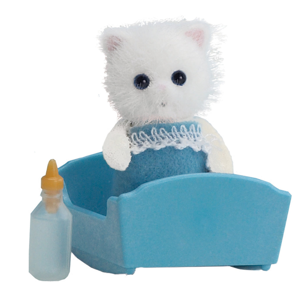 Sylvanian Families Persian Cat Baby - Toyworld