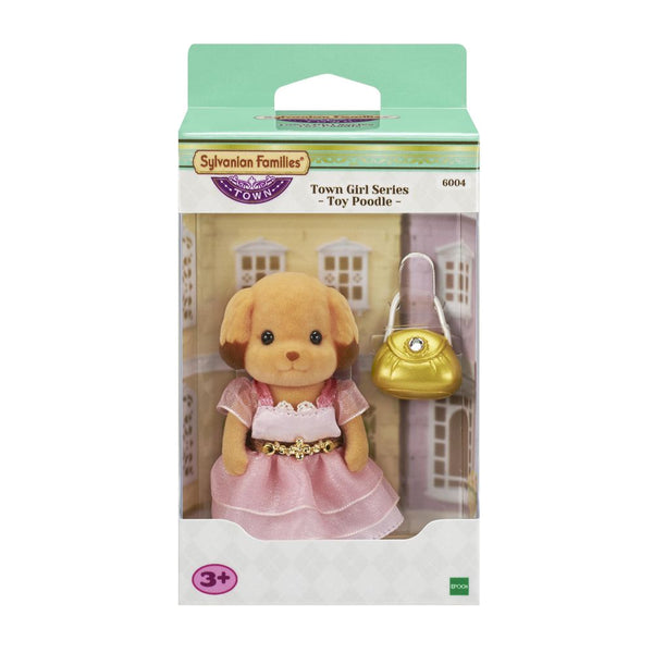 Sylvanian Families Town Girl Series Toy Poodle - Toyworld