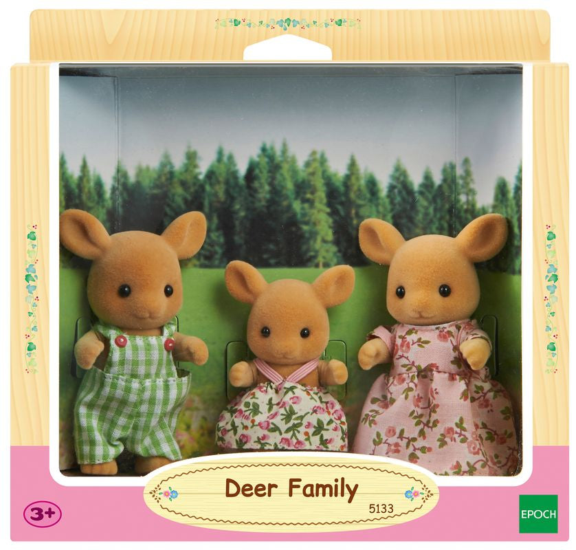 Sylvanian Families Deer Family - Toyworld