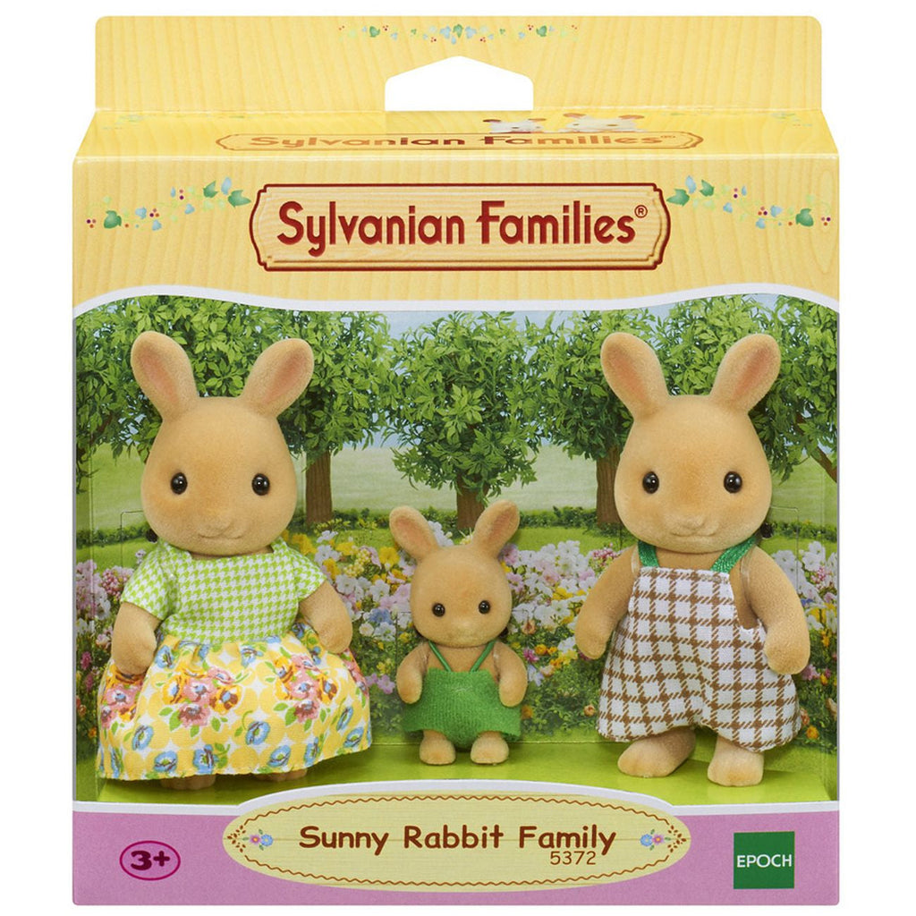 Sylvanian Families Sunny Rabbit Family - Toyworld
