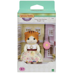 Sylvanian Families Town Girl Series Maple Cat Img 1 - Toyworld