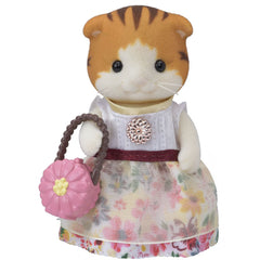 Sylvanian Families Town Girl Series Maple Cat Img 2 - Toyworld