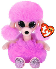 TY BEANIE BOOS CAMILLA THE PINK POODLE - Toyworld NZ