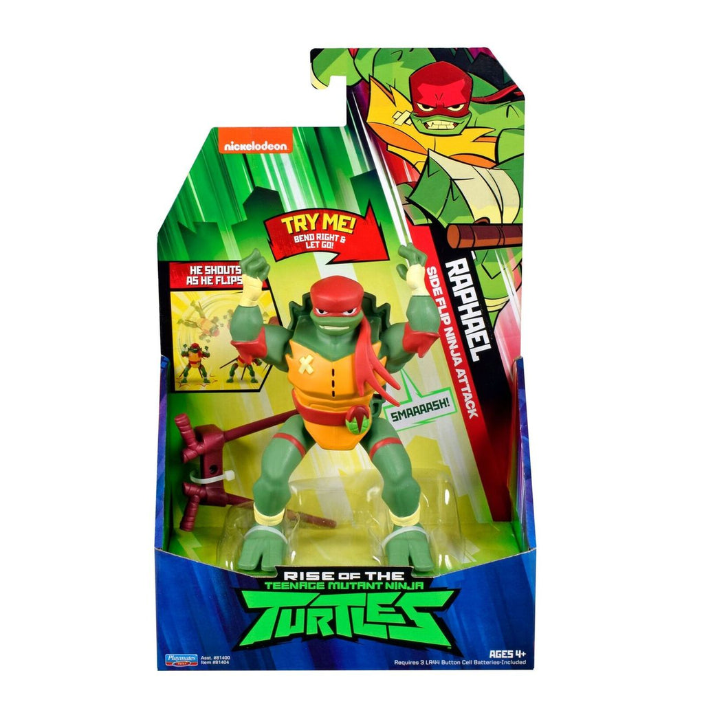 Teenage Mutant Ninja Turtles Deluxe Ninja Attack Figure Raphael - Toyworld
