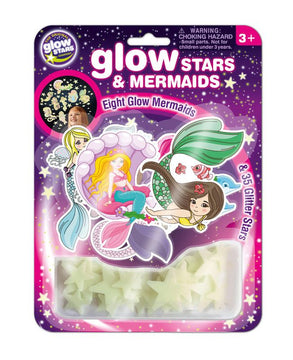 the Original Glow Stars Glow Stars & Mermaids - Toyworld