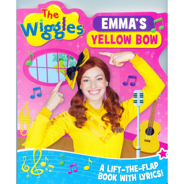 THE WIGGLES EMMA'S YELLOW BOW FLAP BOOK