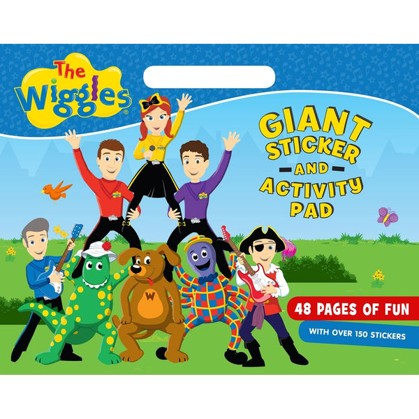 THE WIGGLES GIANT STICKER AND ACTIVITY PAD