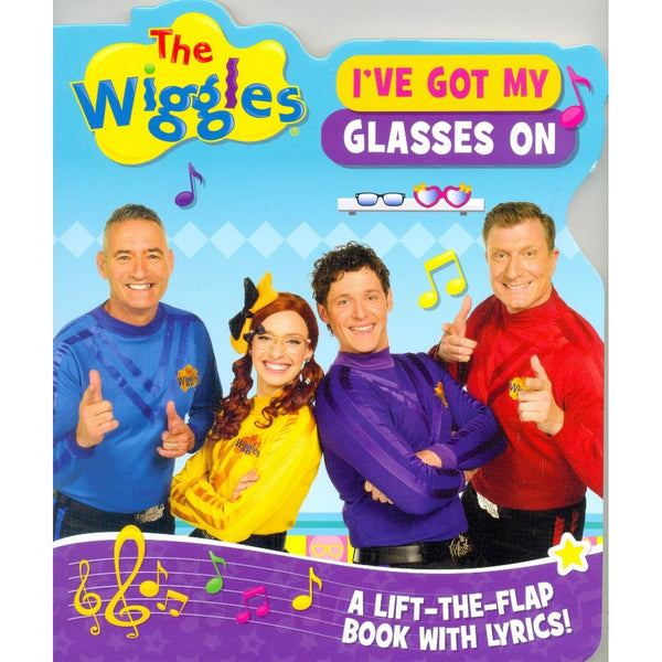 THE WIGGLES I'VE GOT MY GLASSES FLAP BOOK