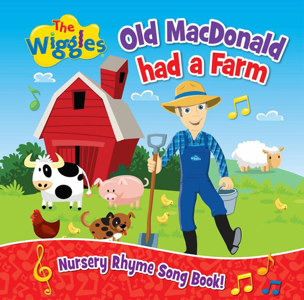 THE WIGGLES OLD MACDONALD HAD A FARM NURSERY RHYME SONG BOOK