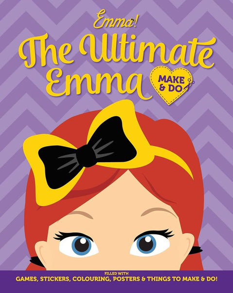 THE WIGGLES THE ULTIMATE EMMA MAKE & DO ACTIVITY BOOK