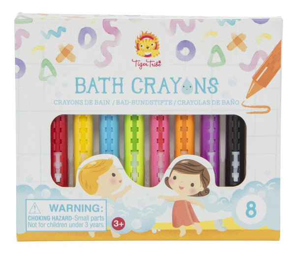 TIGER TRIBE BATH CRAYONS 8PK